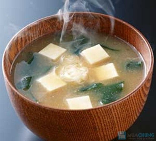 Soup nấm chay