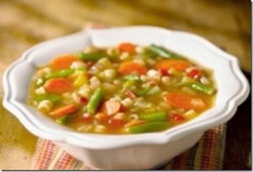 Soup Ý Chay (Vegetarian Minestrone Soup) 1